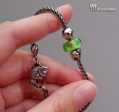 Как сделать клипсы из Mr.&Ms. Ghost Fighter Trollbeads Clip0110