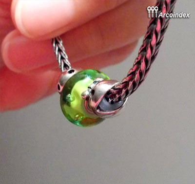 Как сделать клипсы из Mr.&Ms. Ghost Fighter Trollbeads Clip0210