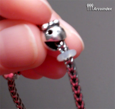Как сделать клипсы из Mr.&Ms. Ghost Fighter Trollbeads Clip0310