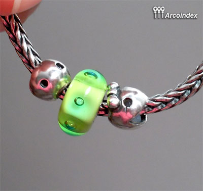 Как сделать клипсы из Mr.&Ms. Ghost Fighter Trollbeads Clip0610