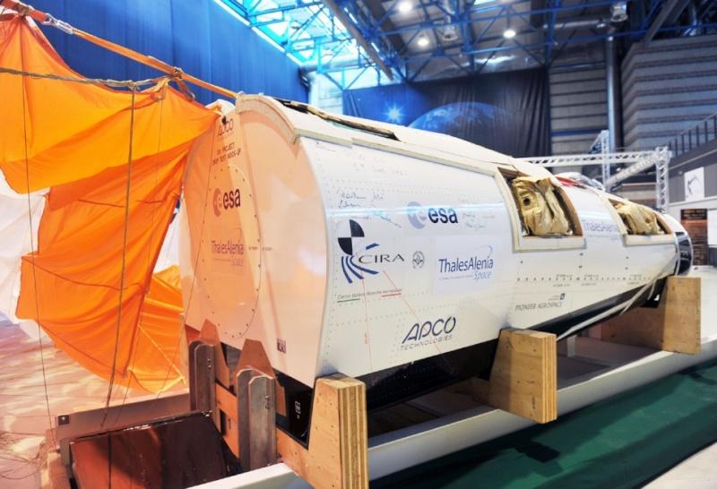 IXV : Intermediate eXperimental Vehicle de l'ESA - Page 3 13181712