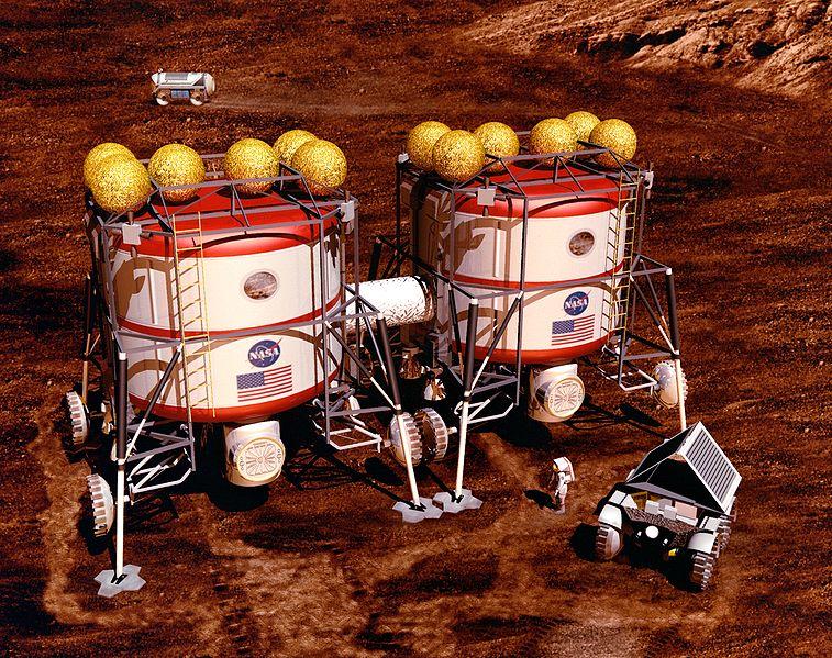 Nouvelle étude NASA pour le voyage habité vers Mars 757px-10