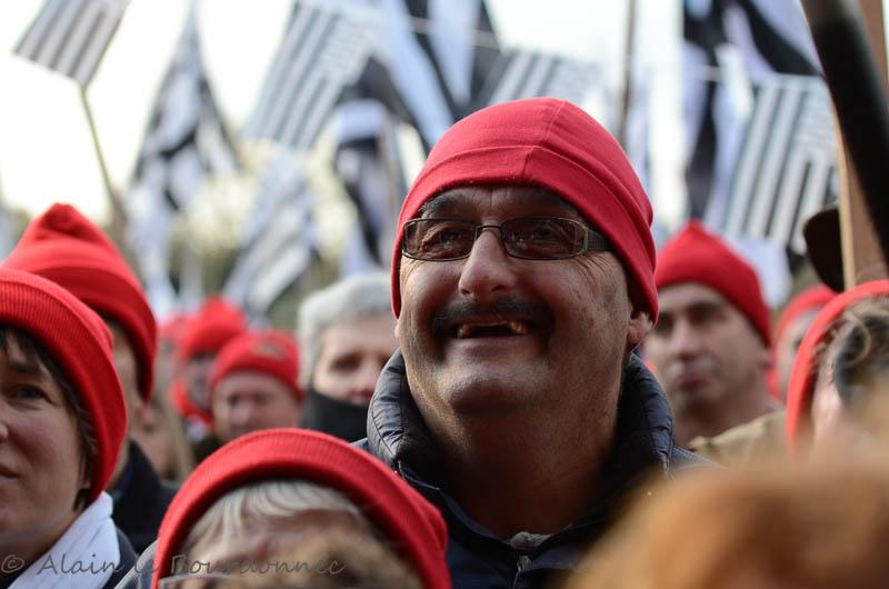 les bonnets rouges a Carhaix 30112012