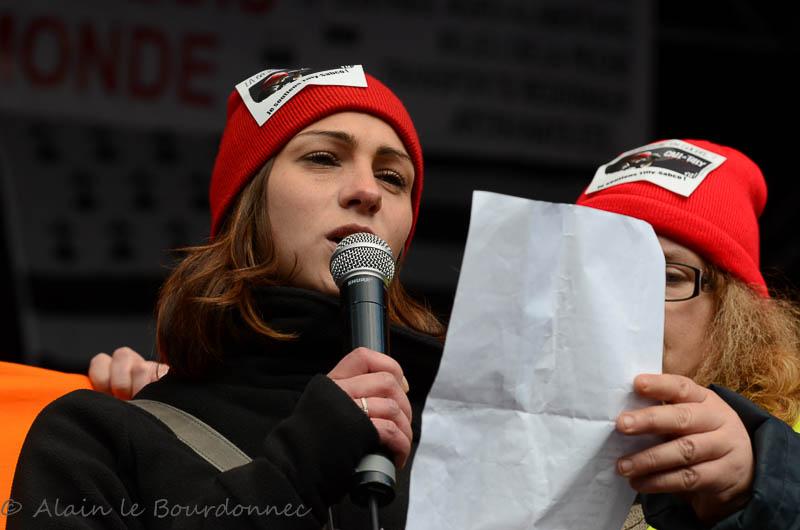 les bonnets rouges a Carhaix 30112013