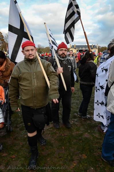 les bonnets rouges a Carhaix 30112016