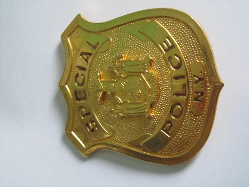 plaque de police NYPD  Img_3310