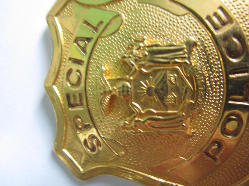 plaque de police NYPD  Img_3311