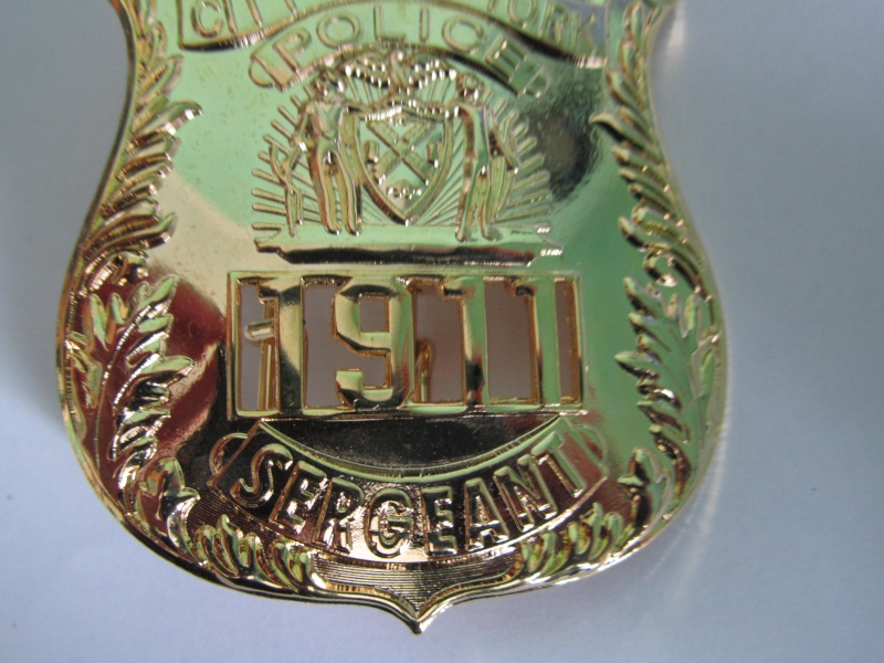 plaque de police NYPD  Img_3317