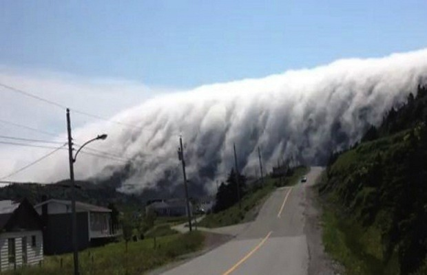 Cascade de brouillard Canada10