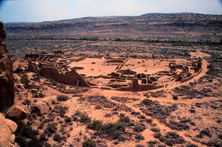 Le peuple Anasazi - Etats-Unis - Amérique du Nord Chaco_10