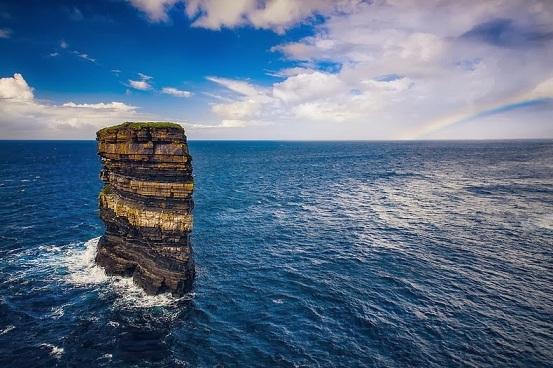 Le rocher de Downpatrick Head Dun-br12
