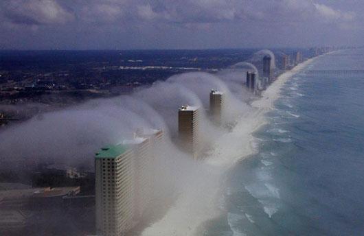 Vagues de nuages Panama10