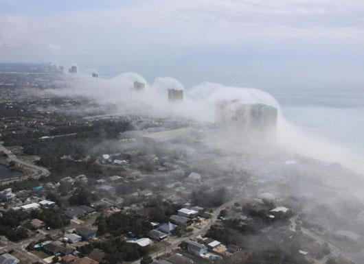 Vagues de nuages Panama11