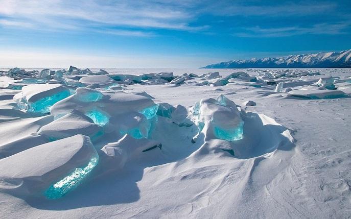 Glace turquoise sur le Baïkal Potd-i10