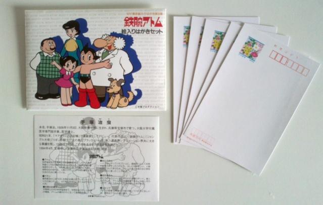 Astroboy (Tetsuwan Atom) set cartoline (prezzo spedito) Astrob10
