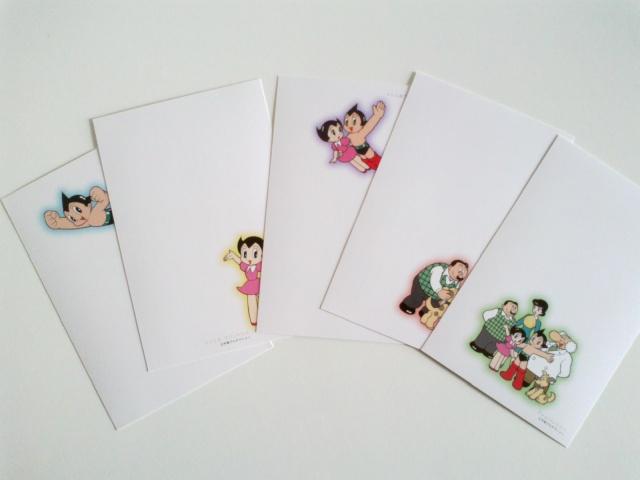 Astroboy (Tetsuwan Atom) set cartoline (prezzo spedito) Astrob12