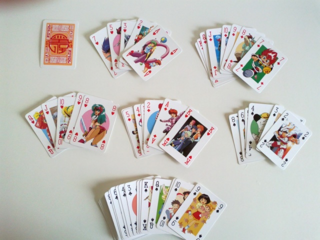 Japan Magazine - carte da poker a tema anime Carte_10