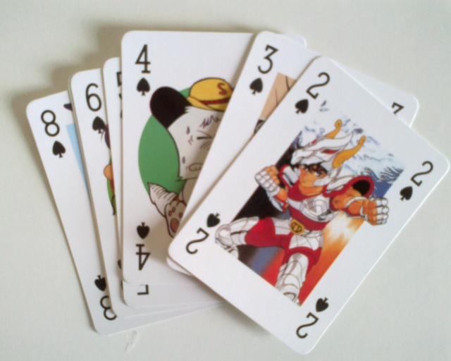 Japan Magazine - carte da poker a tema anime Carte_11