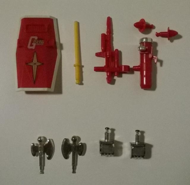 Gundam Clover accessori Gundam13