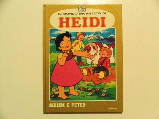 LOTTO 10 LIBRI (anni `70/80`) TRATTI DA ANIMAZIONI (prezzo spedito) Heidi_10