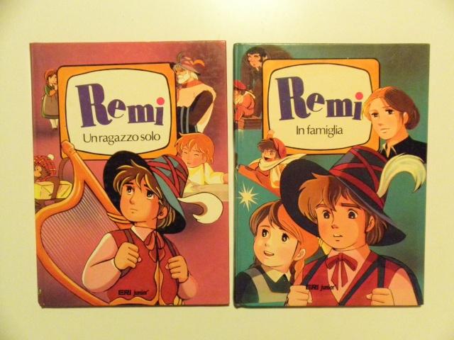 LOTTO 10 LIBRI (anni `70/80`) TRATTI DA ANIMAZIONI (prezzo spedito) Rema_l10