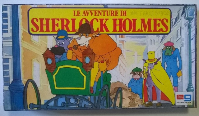 Le avventure di Sherlock Holmes - gioco da tavolo Sherlo11