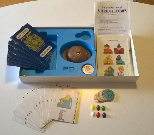 Le avventure di Sherlock Holmes - gioco da tavolo Sherlo12
