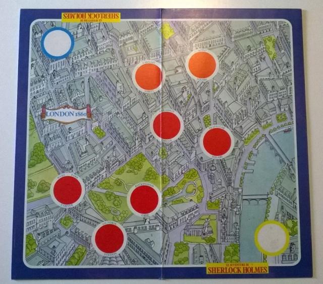 Le avventure di Sherlock Holmes - gioco da tavolo Sherlo13