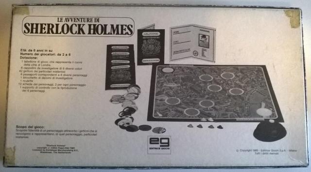 Le avventure di Sherlock Holmes - gioco da tavolo Sherlo15