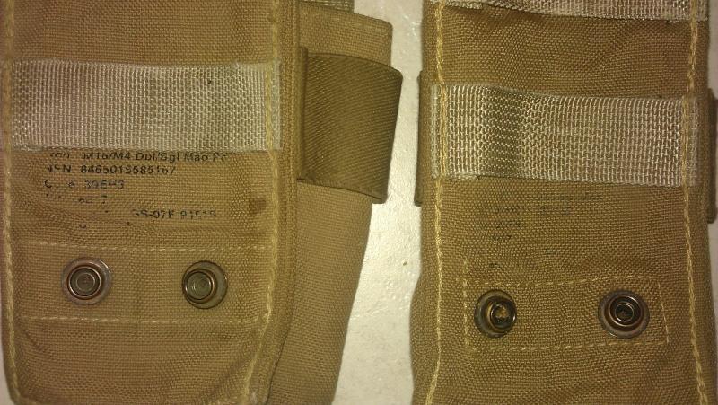[VENTE] Poches M4 + 2 poches doubles pantac RG tirage rapide, chargeurs 50 bbs Glock, malette de transport PA, divers gear Imag0411
