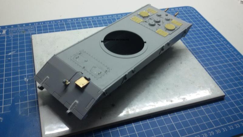 [Terminé] E-100 DRAGON 1/35 avec PE Voyager Model + tourelle KRUPP (par Rhino) + chenilles Friul 20140310