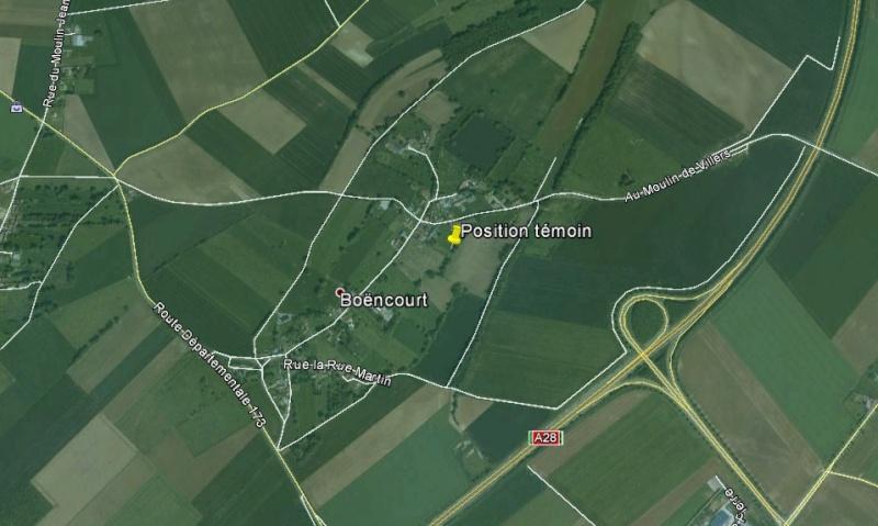 2013: le 23/11 à 7h 15 - Lumière étrange dans le ciel  - Béhen hameau de¨Boëncourt - Somme (dép.80) Boenco10