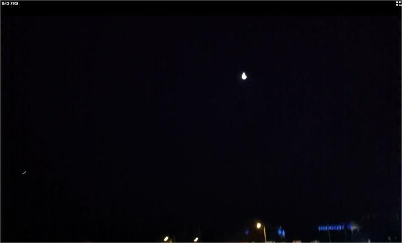 2014: le 24/02 à 06h00 - Lumière étrange dans le ciel  - Saint-Avold - Moselle (dép.57) Enseig11