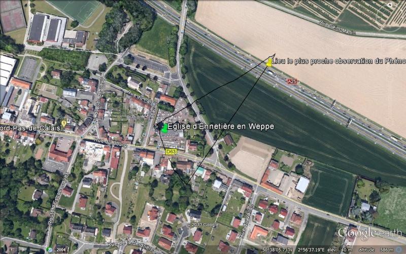 2013: le 11/11 à 2h30 - Aile volante en forme de boomerang - Englos - Nord (dép.59) Google10