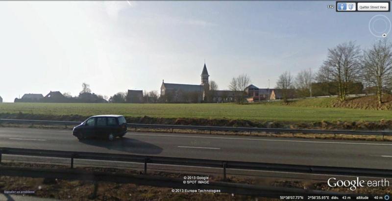 2013: le 11/11 à 2h30 - Aile volante en forme de boomerang - Englos - Nord (dép.59) Google11