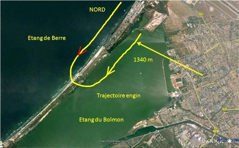 1998: le / à 02h00 - dirigéable - marignane - Bouches-du-Rhône (dép.13) Trajec11