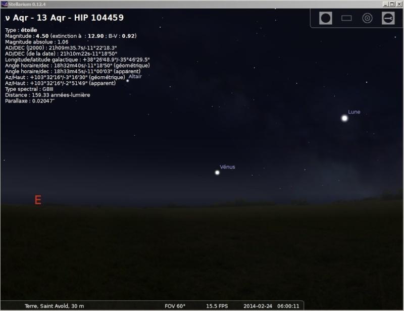 2014: le 24/02 à 06h00 - Lumière étrange dans le ciel  - Saint-Avold - Moselle (dép.57) Vanus13