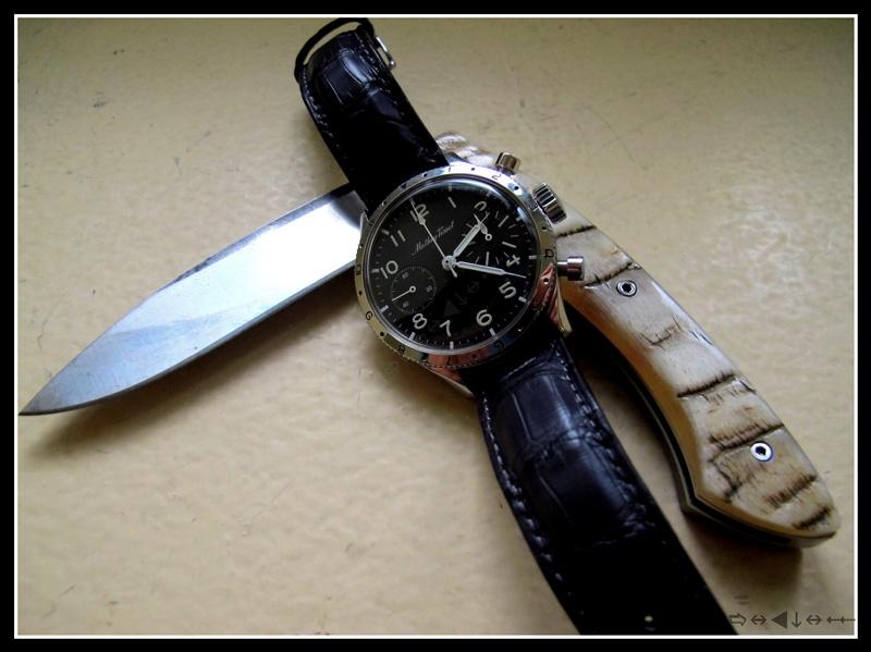 flieger - montres de pilote type 20 ... et .. autre militaire .. Img_7811