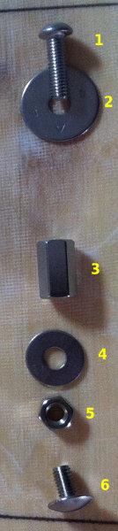 Pose d'inserts dans la planche pour foil avec embase 110