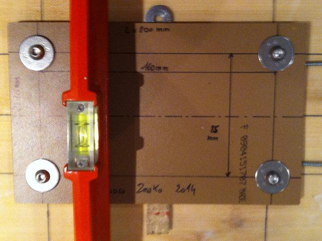 Pose d'inserts dans la planche pour foil avec embase 510