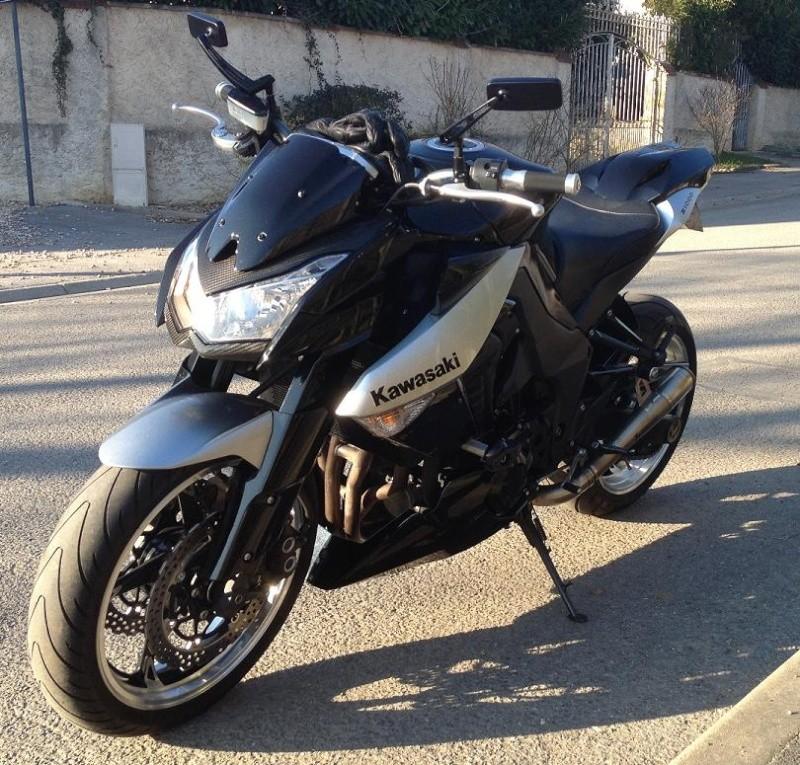 [VENDU] Kawasaki Z 1000 2010 noir et grise Avant_11