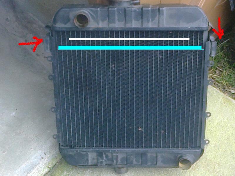 montage radiateur Radia10