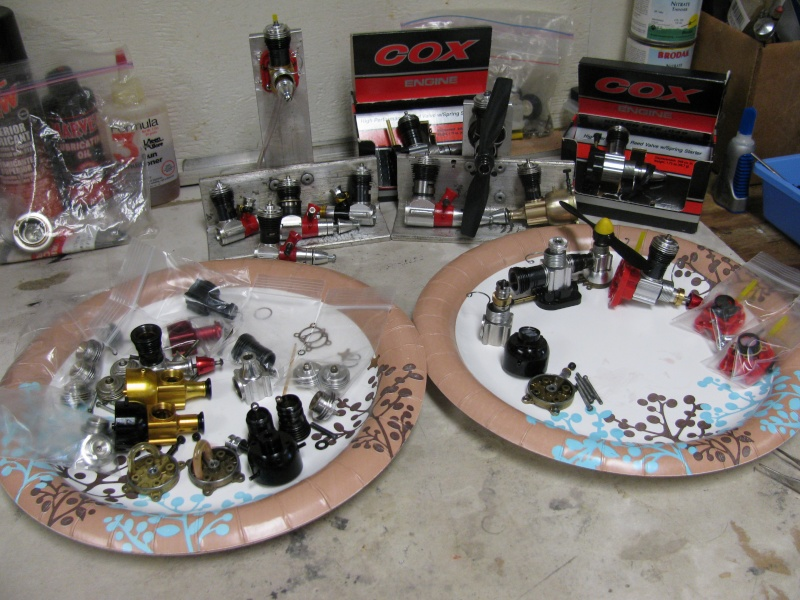 How's my Cox engine collection so far? Img_0711