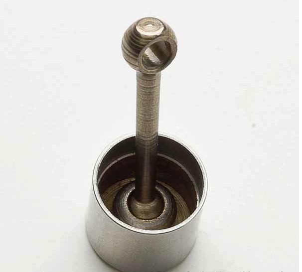 Lightening a piston using common tools Piston10