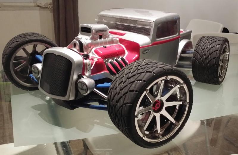 Tracer Revo 4x4x4 Rat Rod. 2014-019