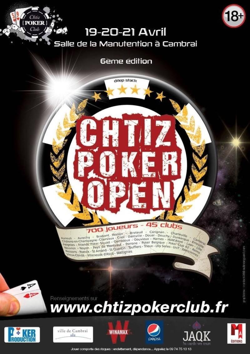 Chtiz poker open 2014 - 19 au 21 avril 2014 Image10