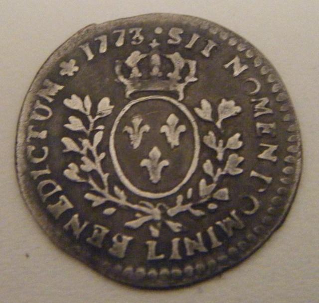 Louis XV - 1/20 écu à la vieille tête - 1773 L (Bayonne) 16.600 exemplaires 99550910