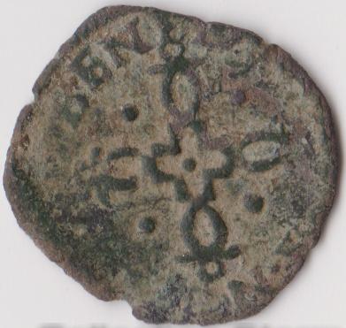 Liard de Pau, pour Henri III et Marguerite de Valois. A_id2_10