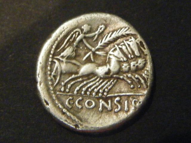 CONSIDIA (46 avant J.-C.) Caius Considius Denier 46 AC. Dscf4911
