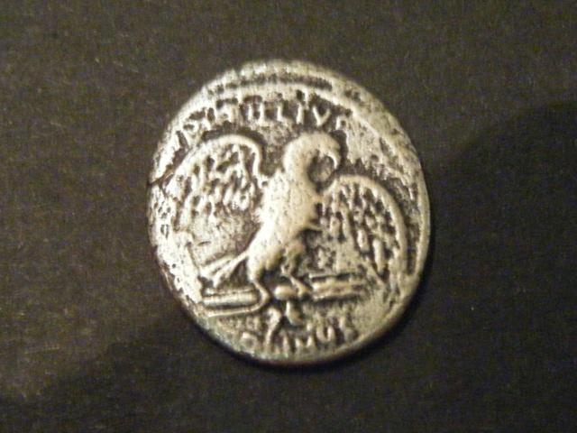 Denier de la Gens PETILLIA, au nom du monétaire Petillius Capitolinus Dscf4916